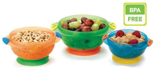 Набор детских тарелок Munchkin (11075)Термосумки, ланчбоксы, термосы<br>Набор детских тарелок<br>