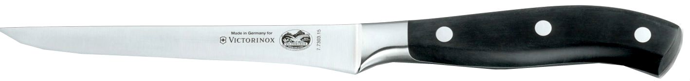 Victorinox 7.7303.15 - нож обвалочный, лезвие 15 см (Black) от iCover