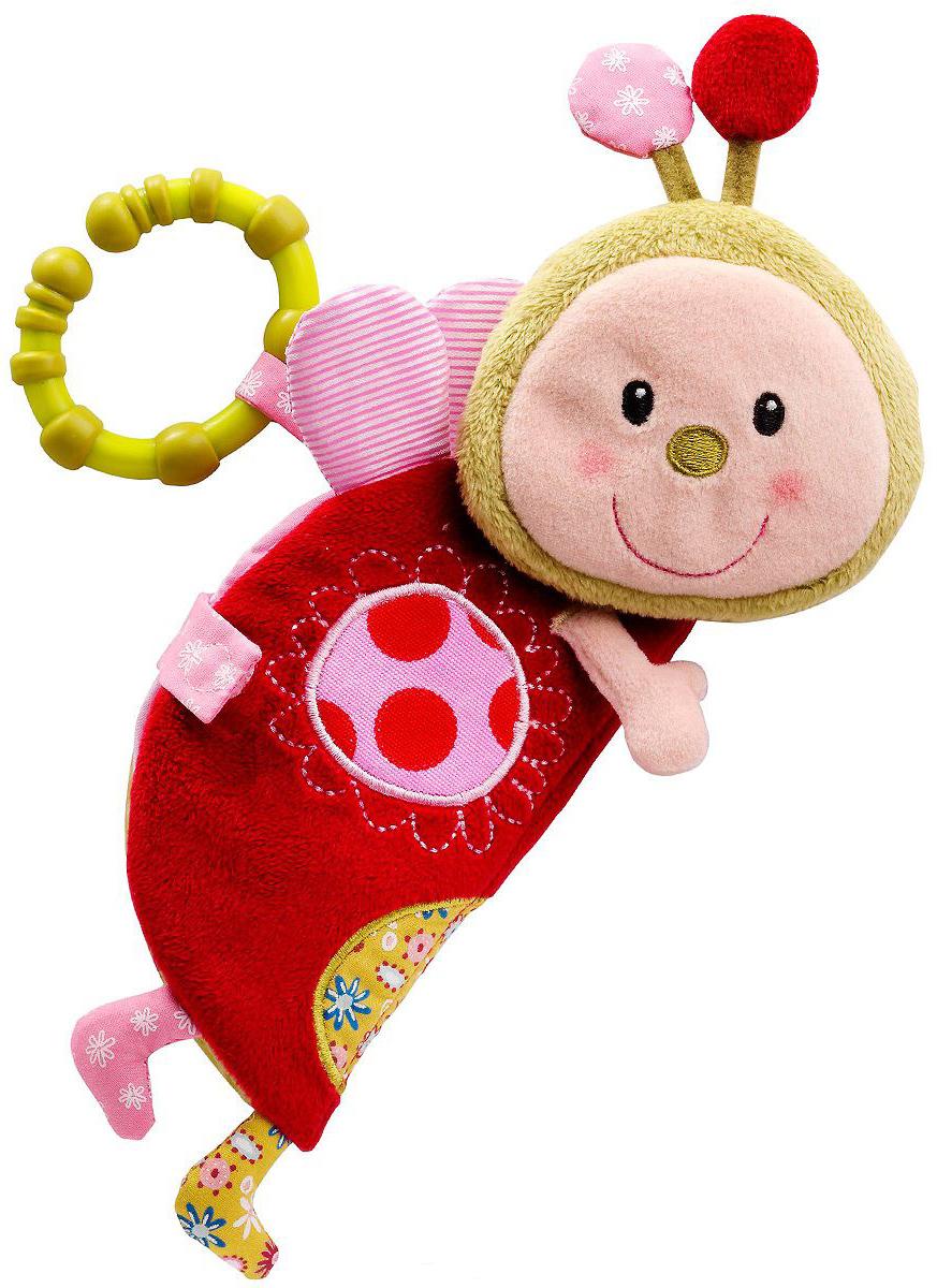 Lilliputiens Божья коровка Лиза (86265) - игрушка-книжка (Pink/Red)