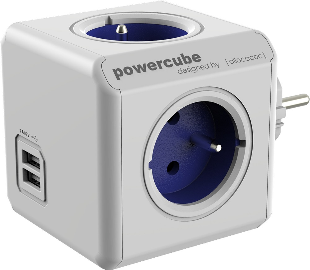 Allocacoc PowerCube Original 1202BL/DEOUPC