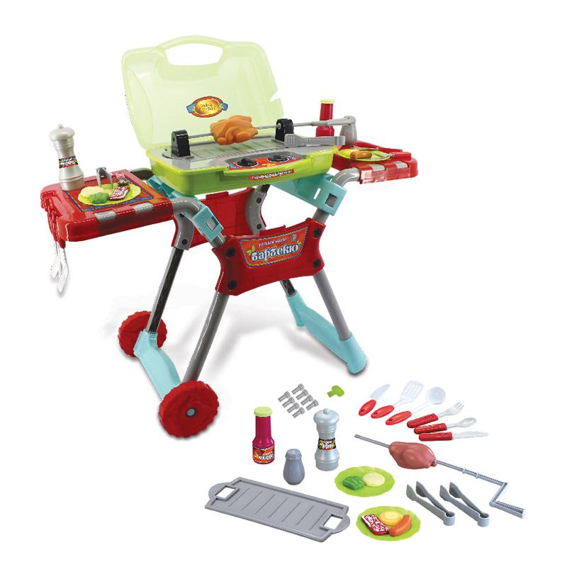 Столик для барбекюИгрушки для ролевых игр для девочек<br>Детский игровой набор<br>
