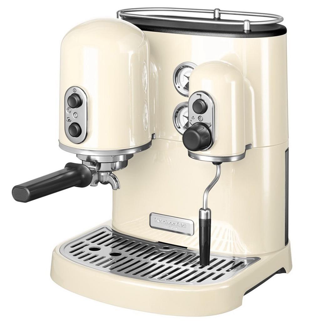 KitchenAid Artisan Espresso (5KES2102EAC) - кофеварка (Cream)