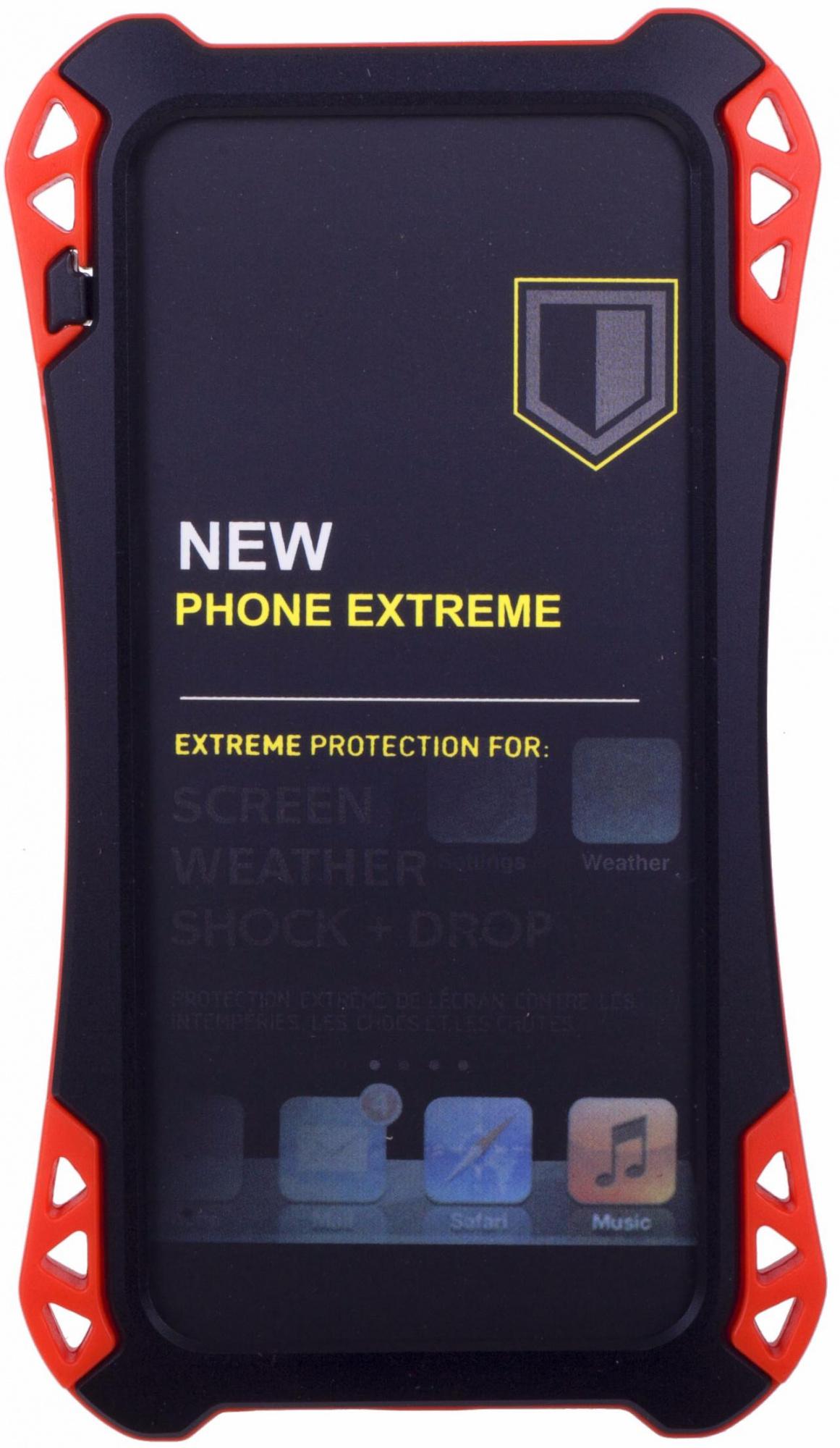 Amira Phone Extreme - защитный чехол для iPhone 5/5S/SE (Black/Red)