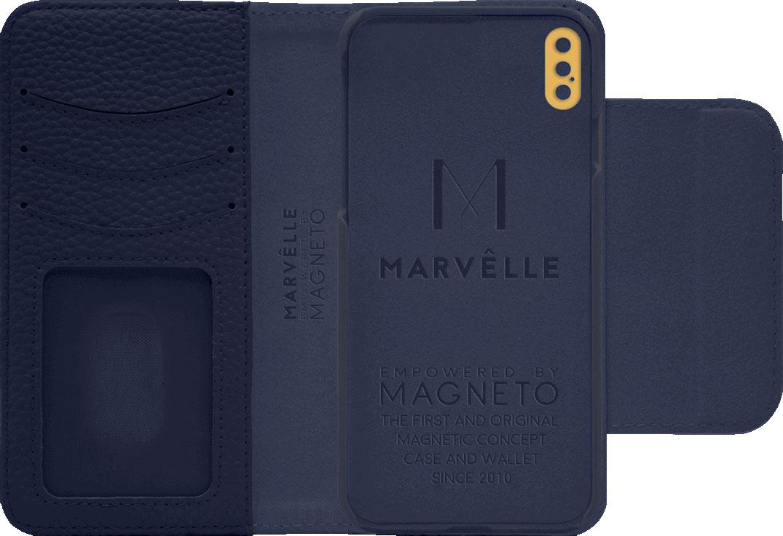 Чехол Marvelle N°303 для iPhone Xs Max (Oxford Blue)