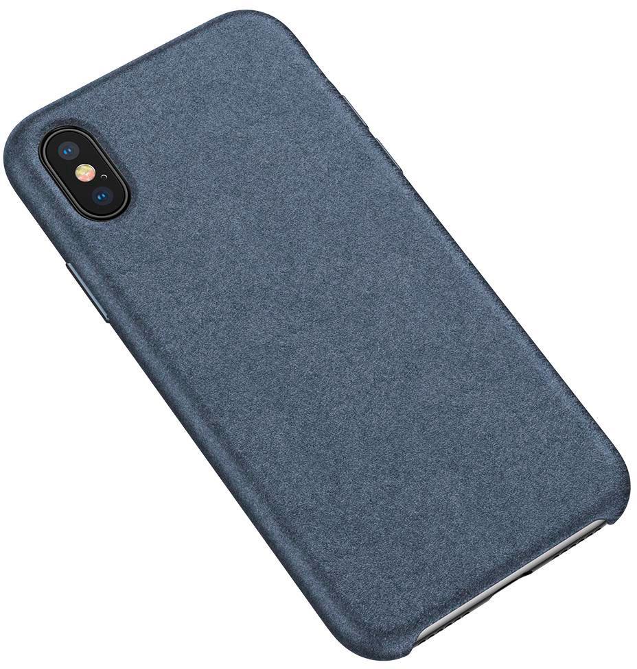 Чехол Baseus Original Super Fiber (WIAPIPH65-YP03) для iPhone Xs Max (Blue)