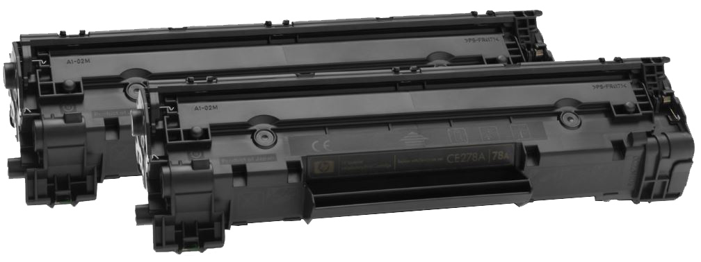 HP 78A Dual Pack (CE278AF) - 2 картриджа для принтеров HP LaserJet Pro P1566/P1606/M1536 (Black)Картриджи и тонеры<br>2 картриджа<br>