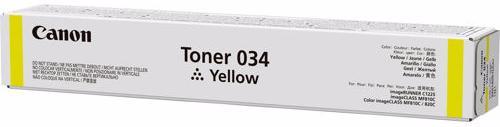 Canon 034 - картридж для принтеров Canon iR C1225/C1225iF (Yellow)