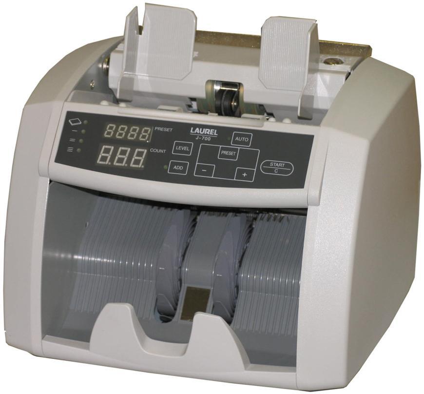Laurel J-700 (8603) - сортировщик банкнот без детекции