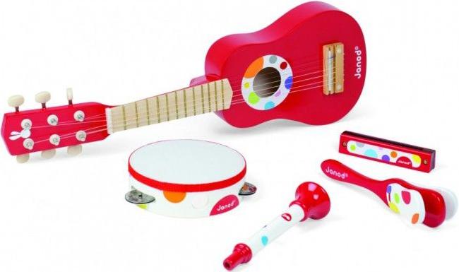Janod Набор музыкальных инструментов (J07626)