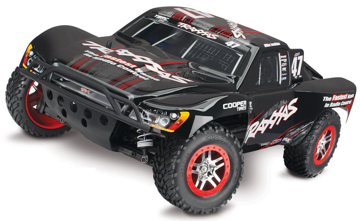 Traxxas Slash 4x4 Ultimate VXL Brushless Low 1:10 - радиоуправляемый автомобиль (Black)