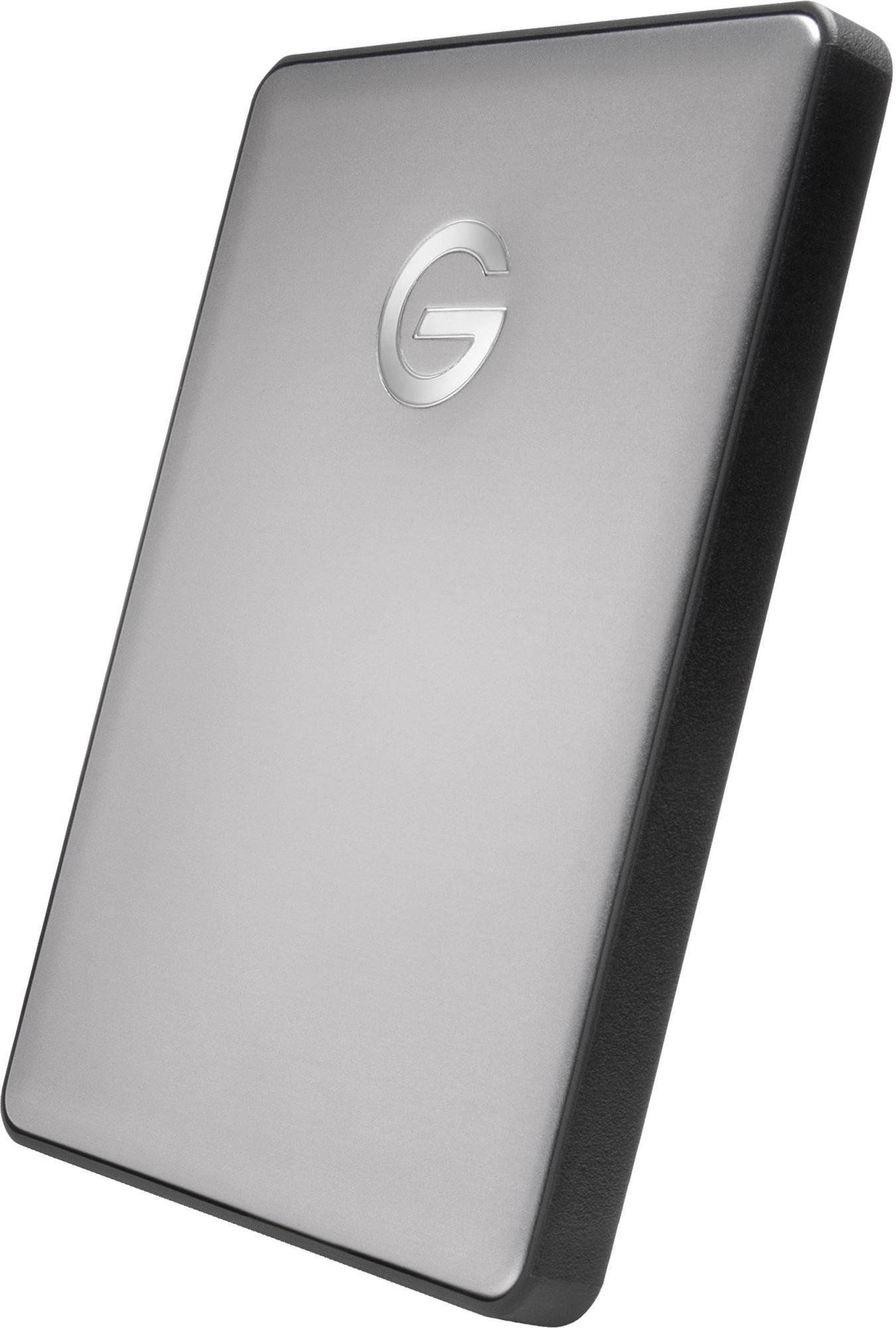 "Внешний жесткий диск G-Tech G-Drive Mobile (0G10317-1) 2TB 2.5"" USB-C (Space Gray) фото"
