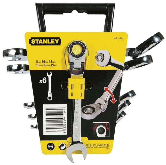 Stanley Maxi Drive Plus (4-91-444) - набор гаечных ключей, 6 штук штаты midea переключатель гнездо united замкнутая гнездо tv телефон гнездо панели элегантный золотой тип полей 86