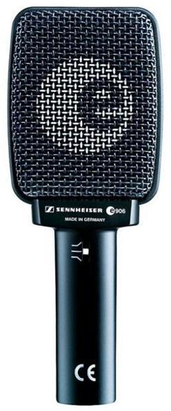 Sennheiser E 906 (73374) - динамический микрофон (Black)Проводные микрофоны<br>Динамический микрофон<br>