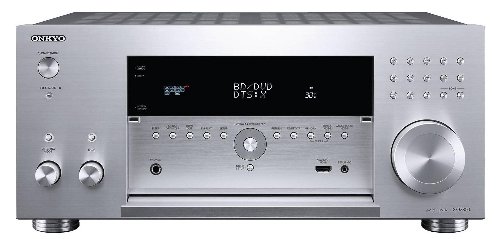 все цены на  ONKYO TX-RZ800 - AV-ресивер (Silver)  онлайн