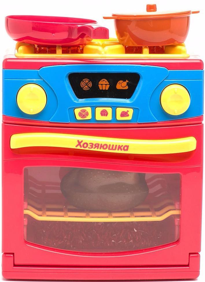 Play Smart Хозяюшка (Р41069) - игрушечная кухонная плита (Pink)