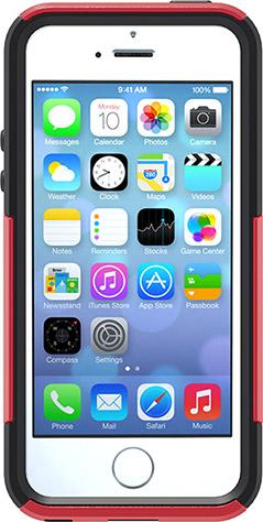 OtterBox Commuter - защитный чехол для iPhone 5 (Red/Black)