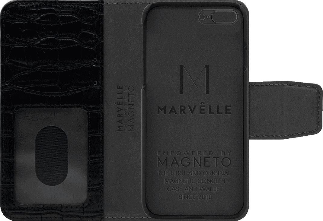 Чехол Marvelle N°301 для iPhone 7 Plus/8 Plus (Ballroom Black Croco)
