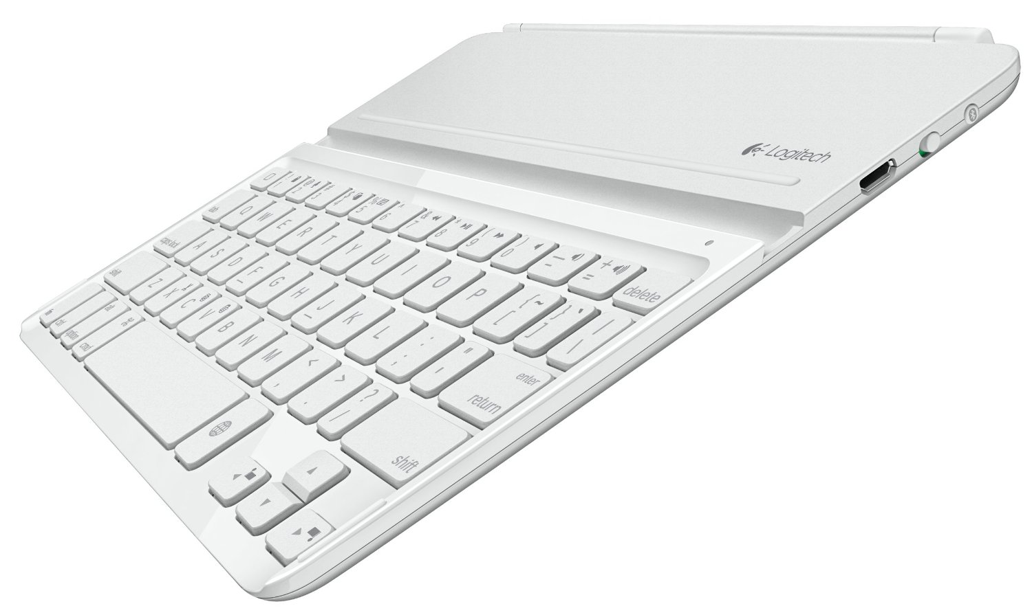 Logitech Ultrathin Keyboard Cover 2.0 - клавиатура-обложка для iPad Air (Silver)