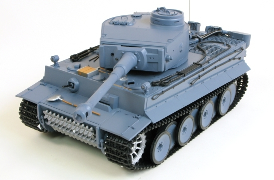 Heng Long German King Tiger 1 Henschel Pro 1:16 - радиоуправляемый танк (Grey) HL3818-1