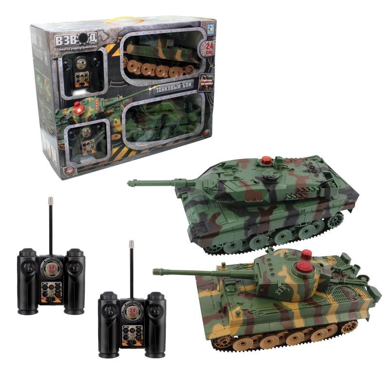 1TOY Танковый бой (Т57526) - игровой набор (Khaki)