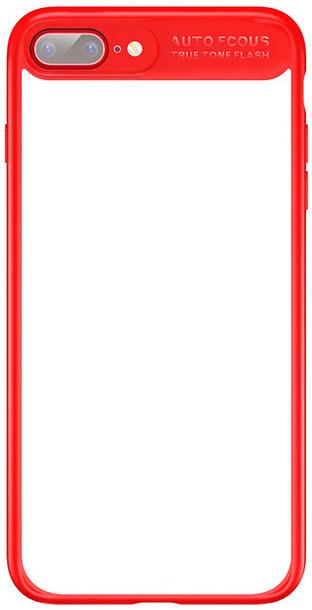 Baseus Mirror Case (WIAPIPH7P-MJ09) - чехол для iPhone 7 Plus (Red)