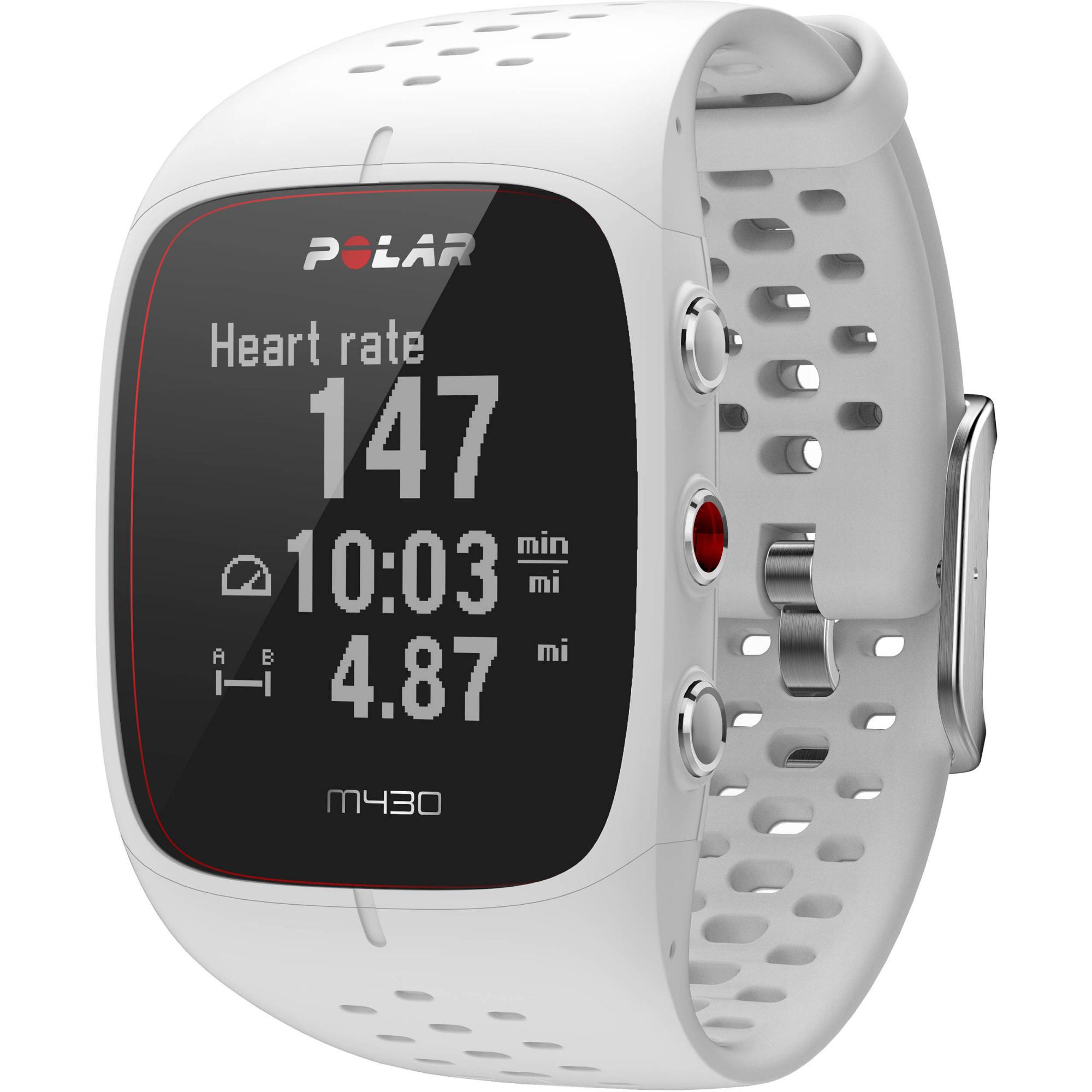 Polar M430 (90064407) - спортивные часы с GPS-модулем (White)