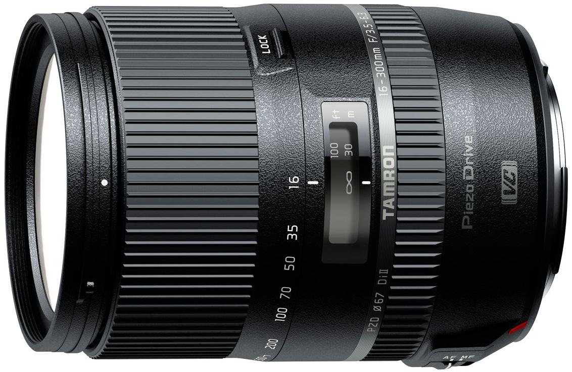 Tamron 16-300mm F/3.5-6.3 Di II VC PZD MACRO - объектив для фотоаппаратов Canon (Black) B016E