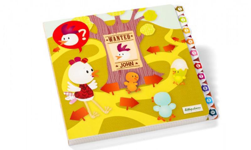 Курочка ОфелияРазвивающие игрушки<br>Развивающая интерактивная книжка-лабиринт<br>