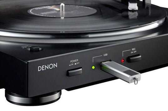 Denon DP-200 USB BL