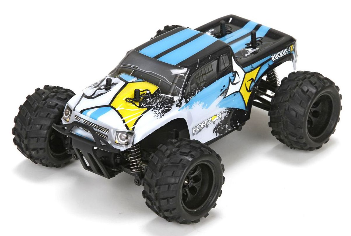ECX Ruckus 1:24 - радиоуправляемый автомобиль (White)