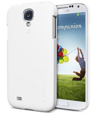 SGP Ultra Fit Series Smooth (SGP10211) - чехол для Samsung Galaxy S4 (White) от iCover