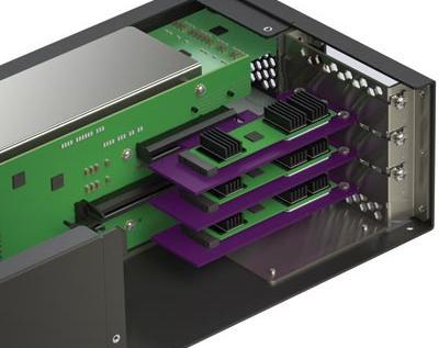 Sonnet Mobile Rack Module, PCIe Card Expansion (3 slots)