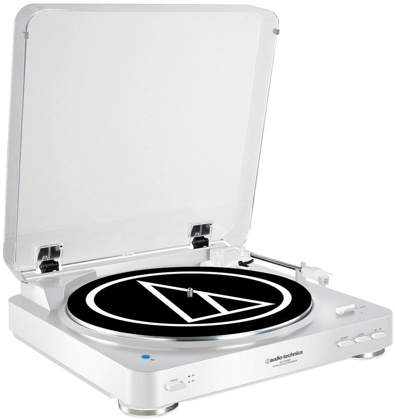 Audio-Technica AT-LP60-BT - проигрыватель виниловых пластинок (White)