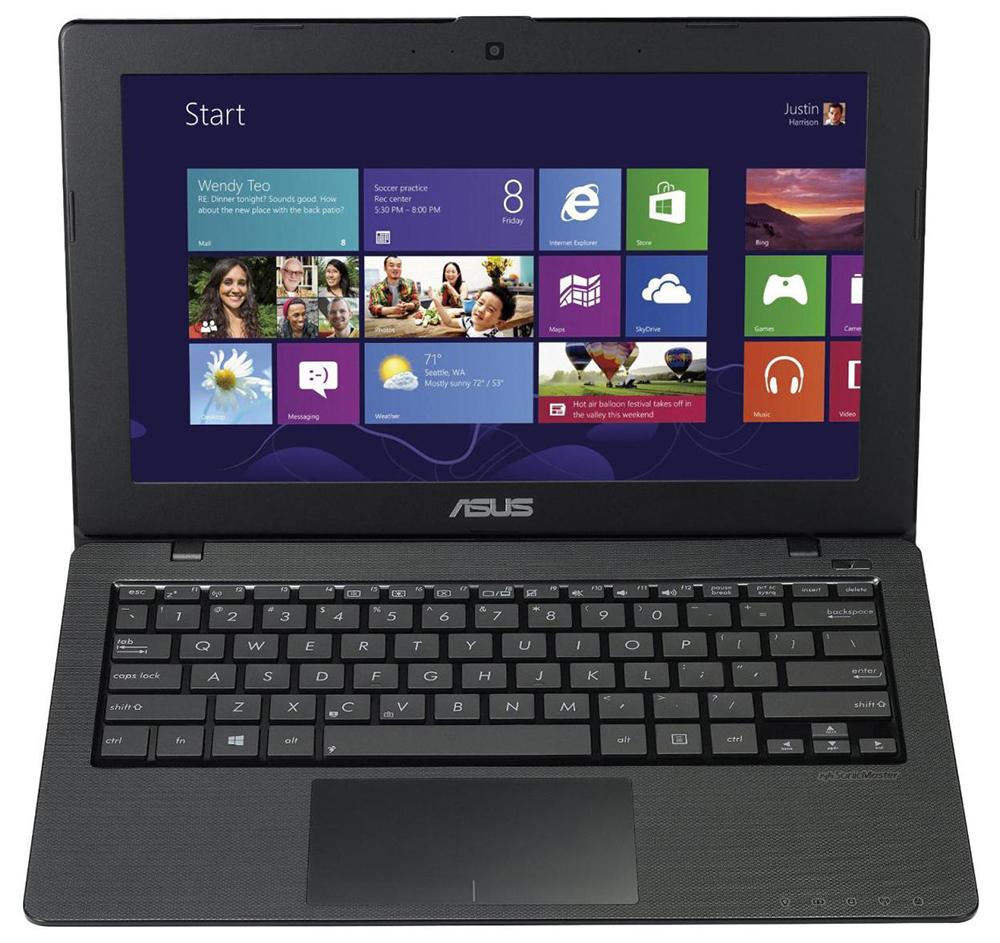 Ноутбук Asus X200MA-CT320H 11.6'', Intel Pentium N3540, 2.2GHz, 4Gb, 750Gb HDD (90NB04U8-M07660)
