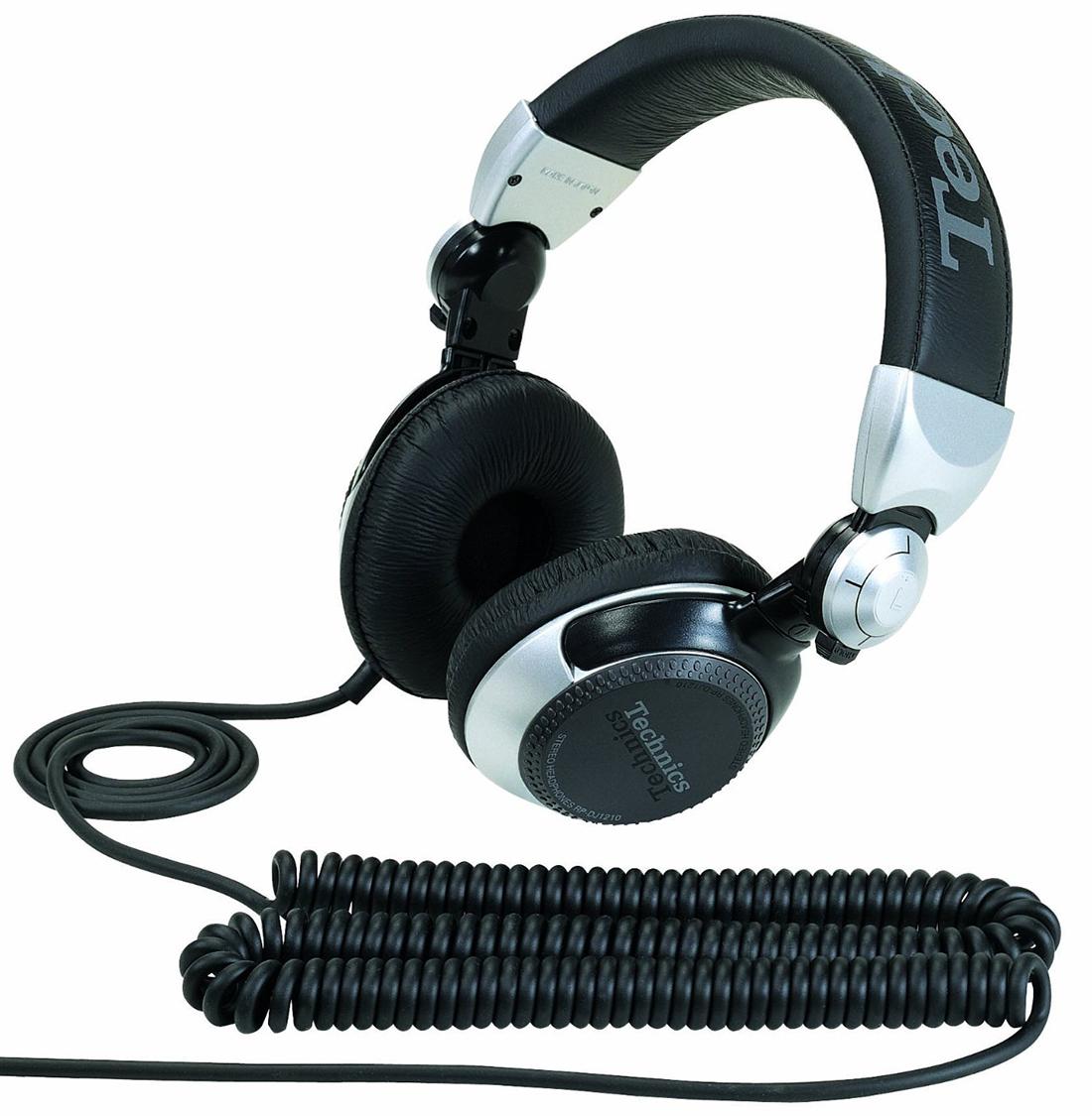 Technics RP-DJ1210E-S - мониторные наушники (Black/Silver)
