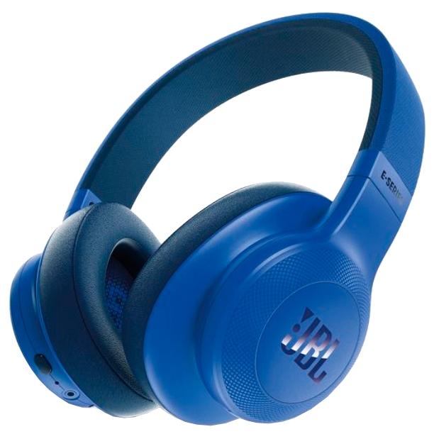 JBL E55BT - беспроводные накладные наушники (Blue)