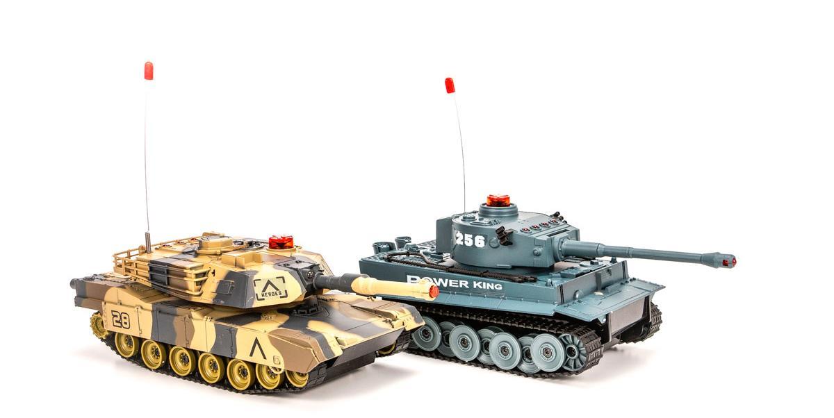 Battle Tank SetТанки, военная техника<br>Танковый бой TIGER + LEOPARD<br>