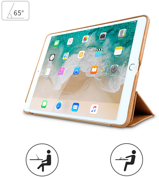 Чехол Jisoncase PU Leather JS-IPD-01M20 для iPad 9.7 (Brown)