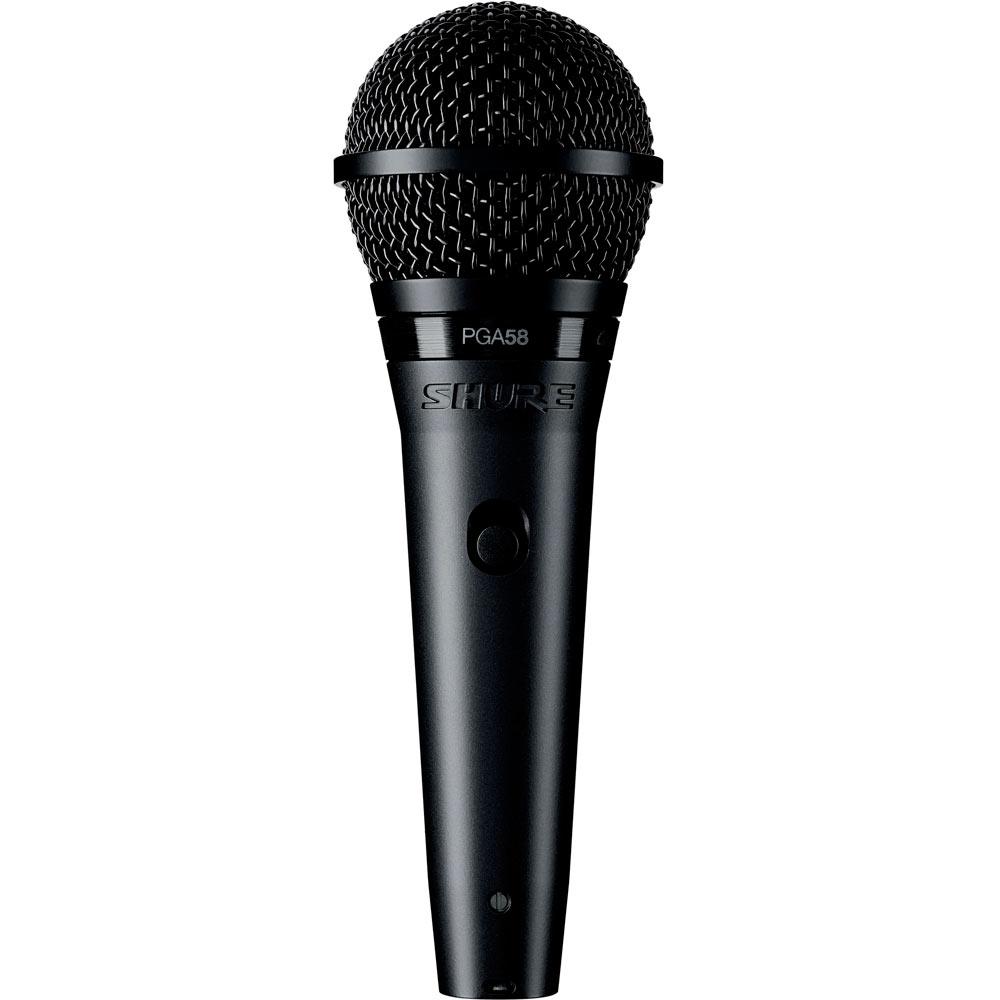 Shure PGA58-XLR-E - вокальный микрофон (Black)