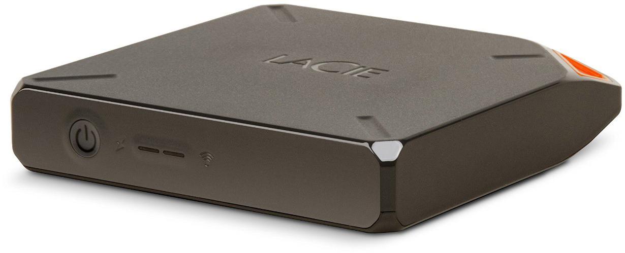 Купить LaCie Fuel 2.5 , 1Tb, Wi-Fi, USB 3.0 (STFL1000200) - внешний жесткий диск (Silver)