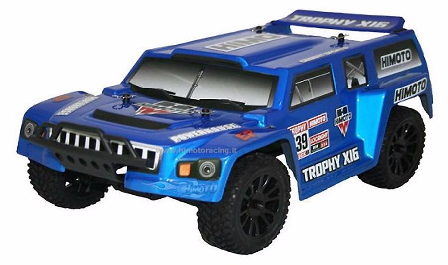 Himoto ETY-16 1:16 - радиоуправляемый автомобиль (Blue)