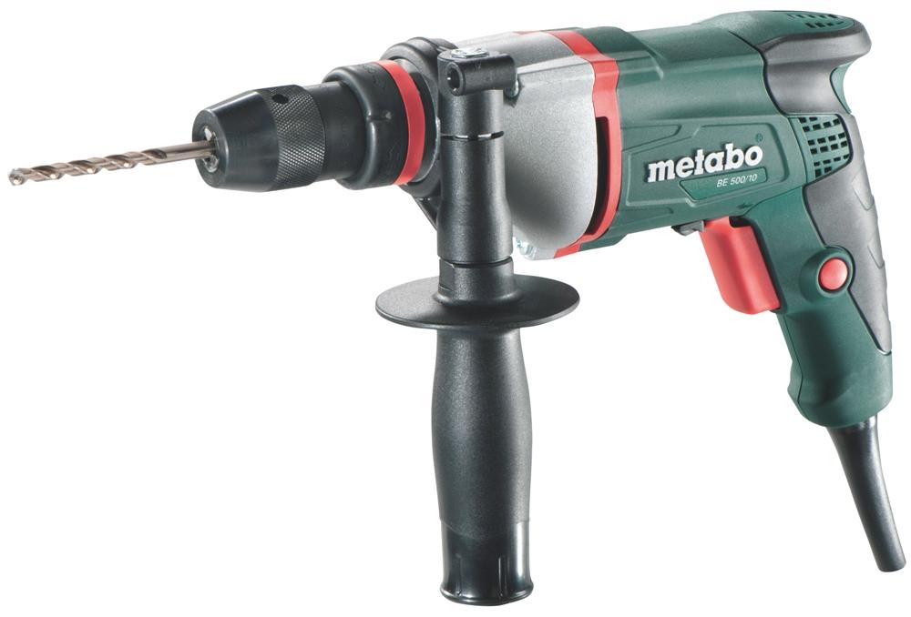 Metabo BE 500/10 (600353000) - электрическая дрель BE 500/10 600353000