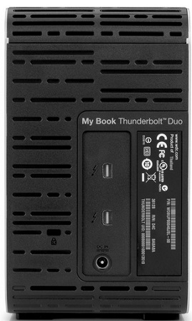 "WD My Book Thunderbolt Duo 3.5"" 4TB (WDBUTV0040JSL) - внешний диск"
