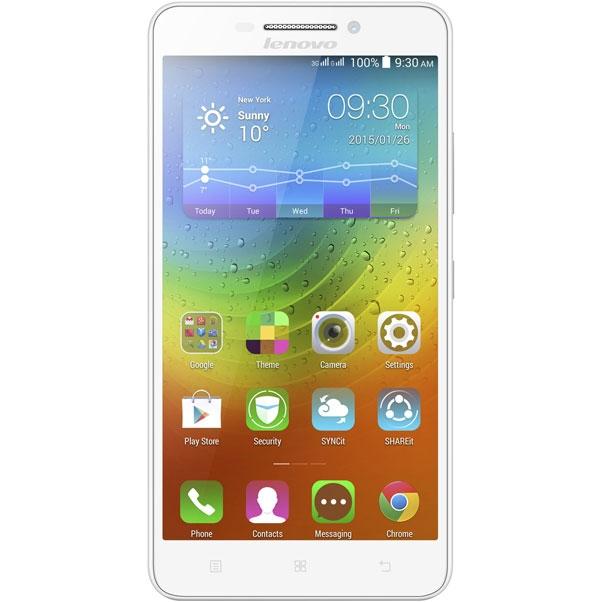 Смартфон Lenovo A5000 8Gb 3G Dual Sim (White)