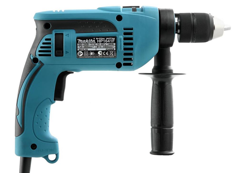Makita HP1641F - ударная дрель (Blue) 161432
