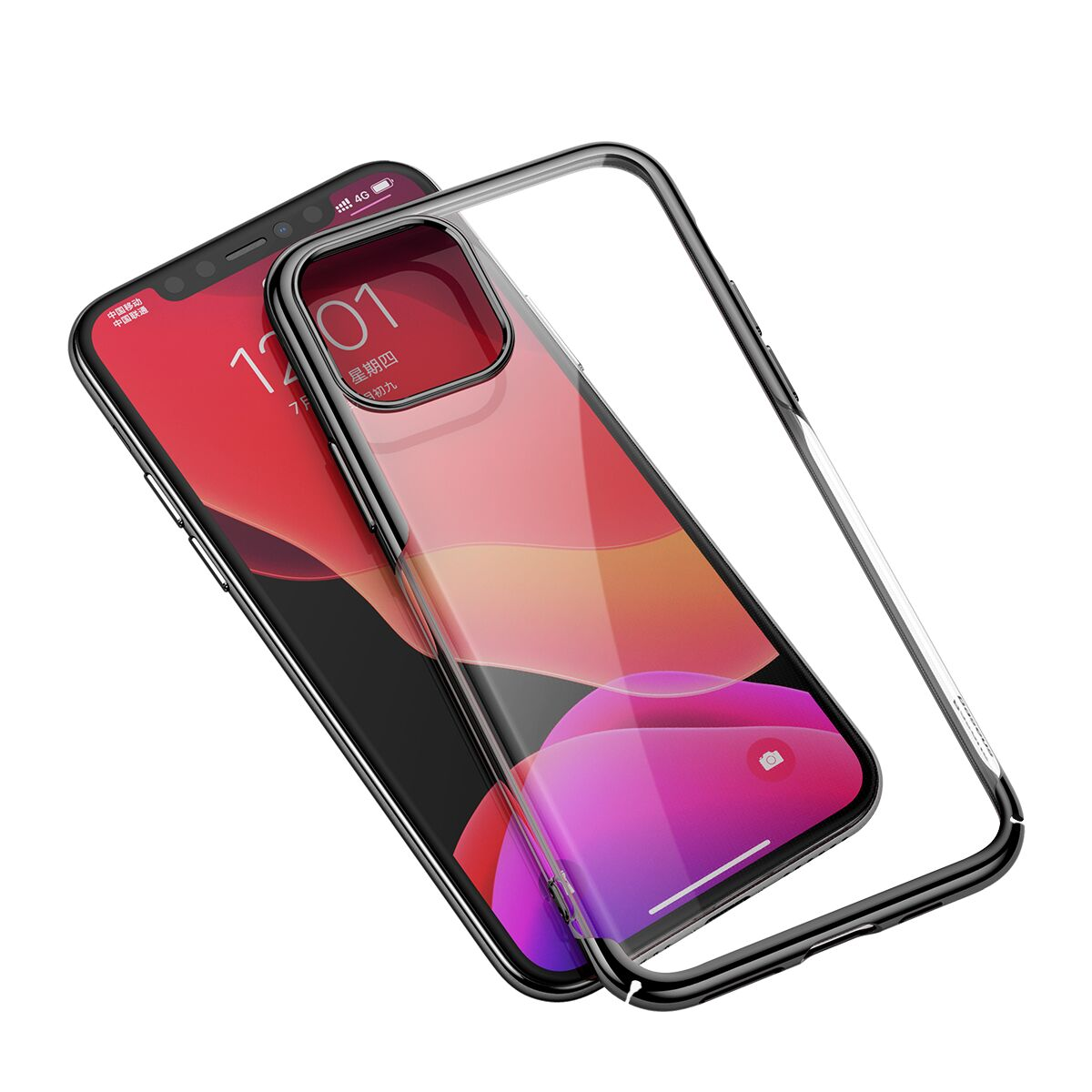 Чехол-накладка Baseus Glitter Case (WIAPIPH58S-DW01) для iPhone 11 Pro (Black)