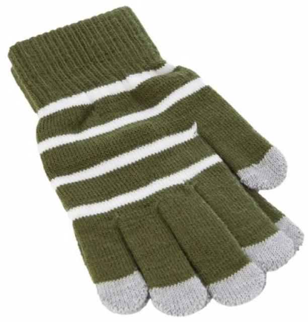 iCasemore Gloves (iCM_WhS-grn) - трикотажные перчатки (Green) icasemore gloves icm smp blk кашемировые перчатки black