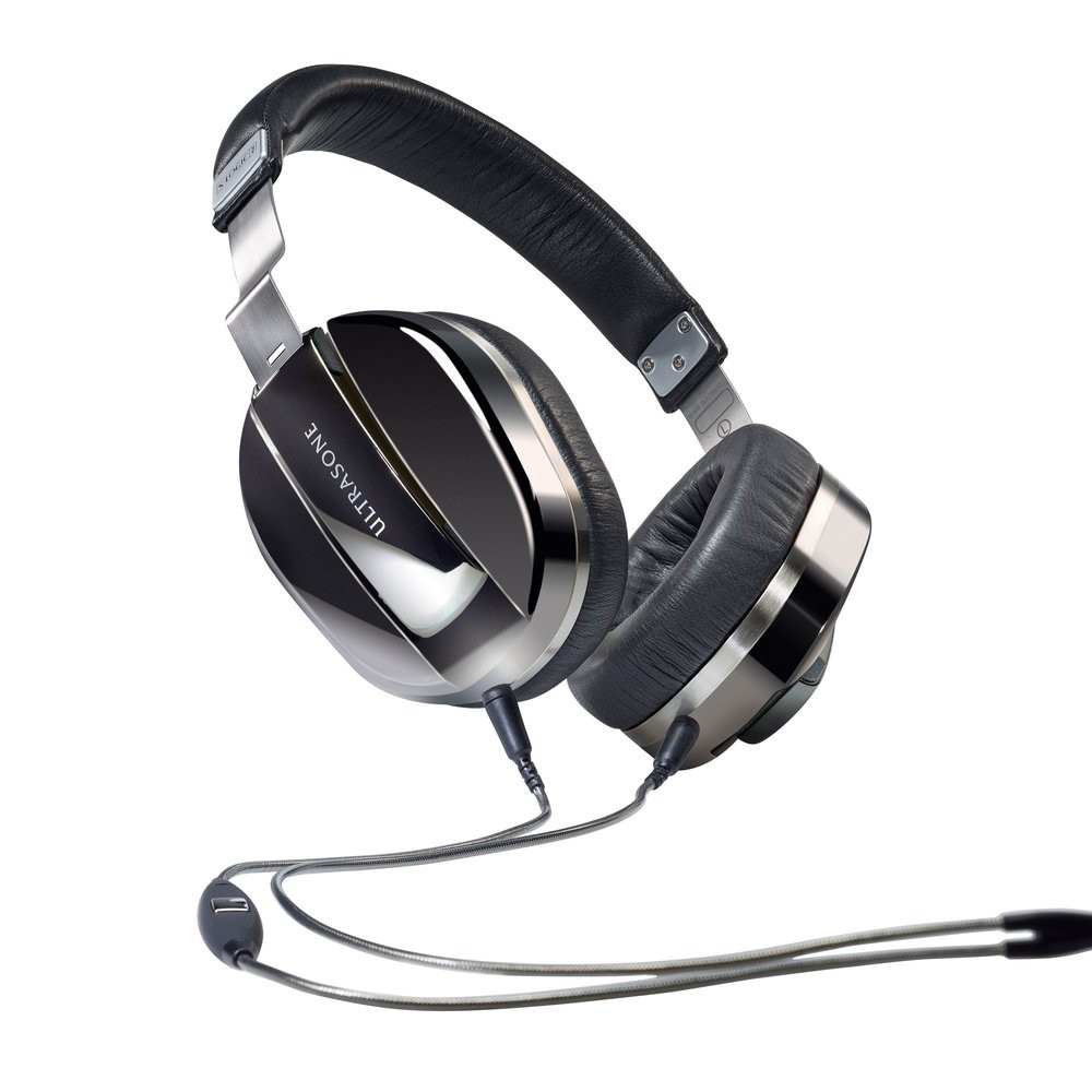 Ultrasone Edition M Plus Black Pearl - полноразмерные наушники с микрофоном (Black)