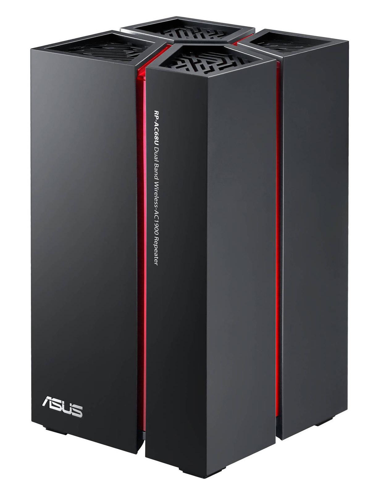 Asus RP-AC68U - беспроводной повторитель (Black)