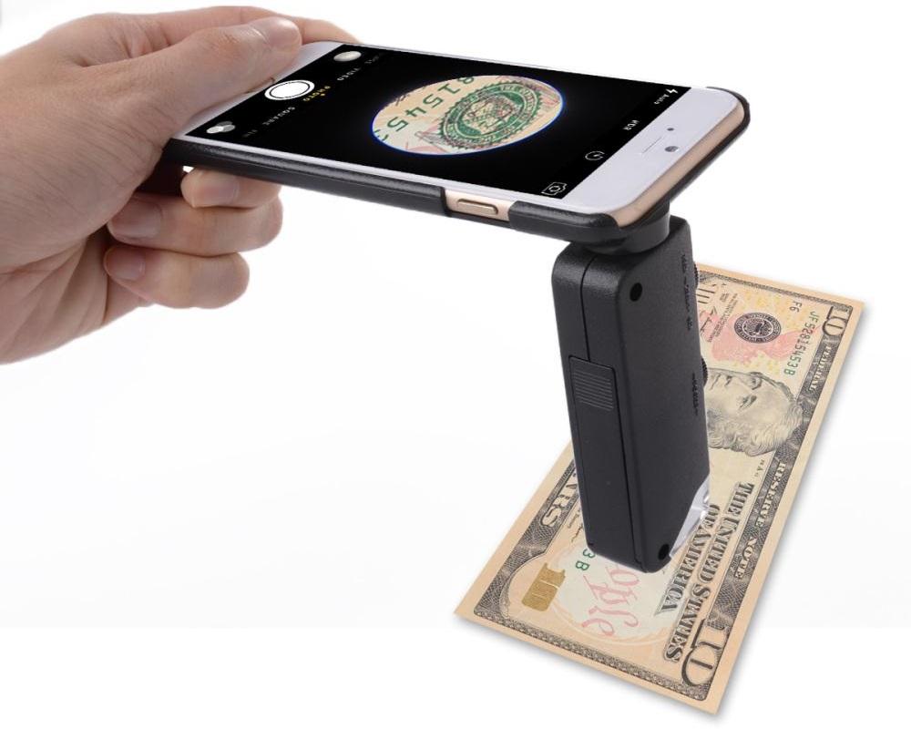 Mobile Phone Microscope 60x-100x - микроскоп для iPhone 6 Plus